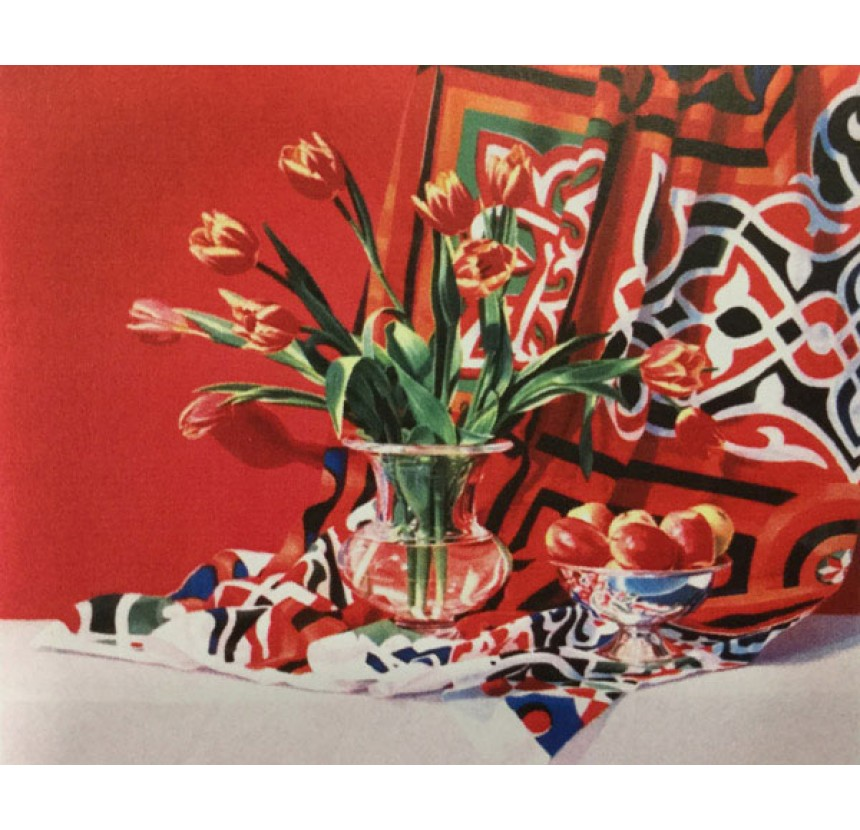 """A.Drougas - """"Red tulips"""""""