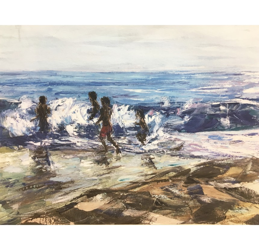 """T. Dimitrakopoulou - """"Playing in the Waves I"""""""